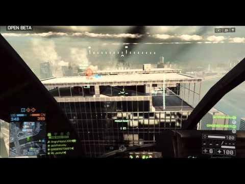 Battlefield 4 Beta - Little Bird Gameplay video