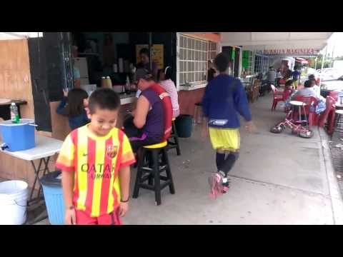 Everday life in Mexico: Children at the park