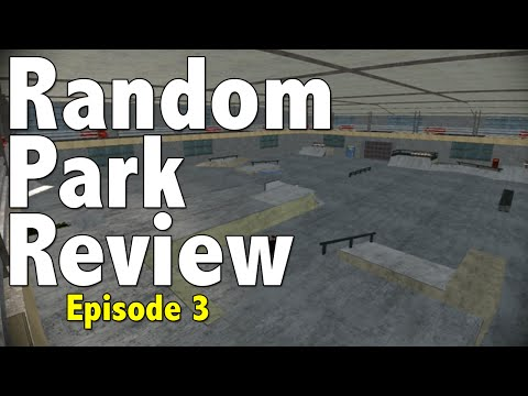 Random Skate 3 Skatepark Review : Episode 3