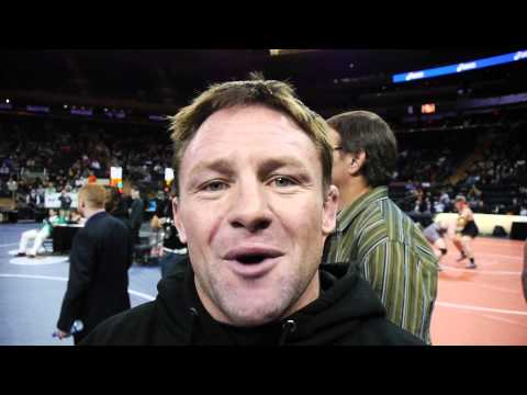 Joe Warren breaks down win at Grapple at The Garden 2013  Bellator title fight