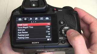 02. Sony Cyber-shot DSC-HX400V Update and Menu Diving in 4K