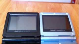 Analisis de Game Boy Advance SP y cartucho EZ-Flash