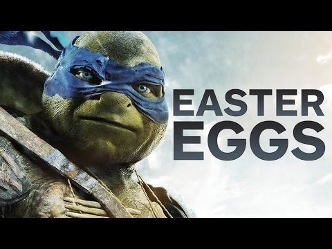 10 Teenage Mutant Ninja Turtles Easter Eggs video