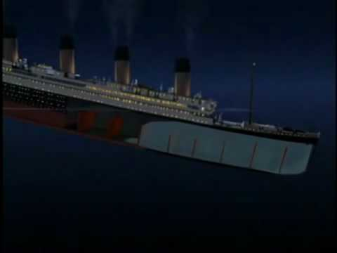 Titanic sinking Reverse