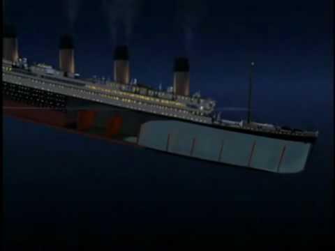 Titanic sinking Reverse