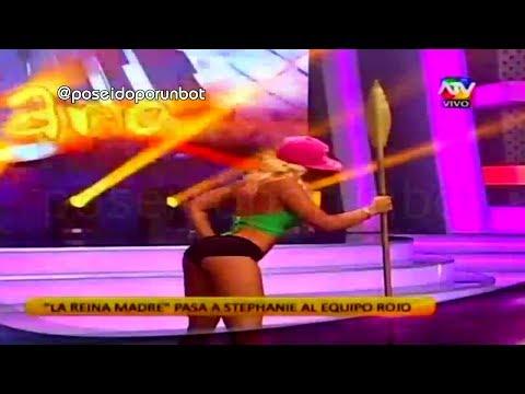 COMBATE: Yamila Se Burla De Stephanie Valenzuela 19/02/14