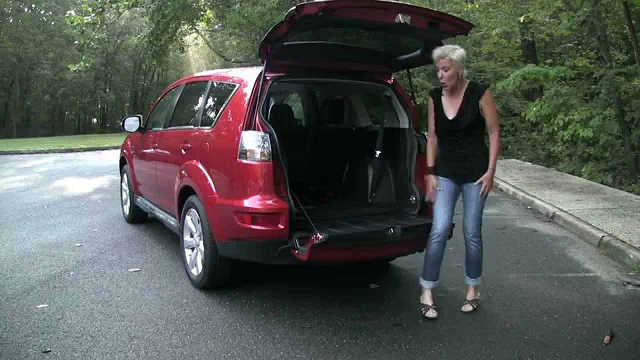RoadflyTV - 2011 Mitsubishi Outlander GT Test Drive & Car ...