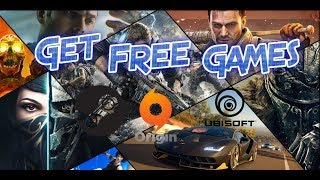 How To Get Free Game Steam Ubisoft EA Origin / Download Free Games