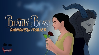 Beauty and the Beast Trailer in Animation | Emma Watson
