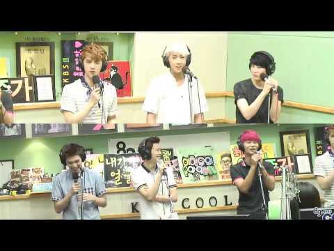 130617 VIXX - Intro + Hyde Ft Hyuk Cracking (Hong Jin Kyung 2pm Radio)