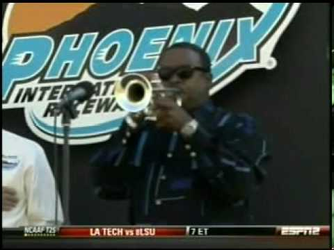Trumpets Montclair Nj. Our Star Spangled Banner as performed once again by Trumpet Master Dr. Jesse mcguire before the start of the Able Body Labor race at the Phoenix