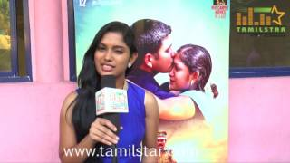 Sri Priyanka At Kathiravanin Kodai Mazhai Movie Team Interview