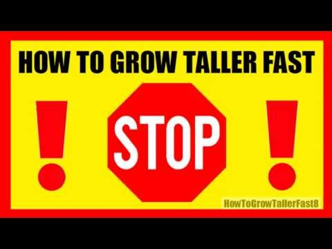 How To Grow Taller Fast And Naturally? 4 Inches In 8 Weeks!