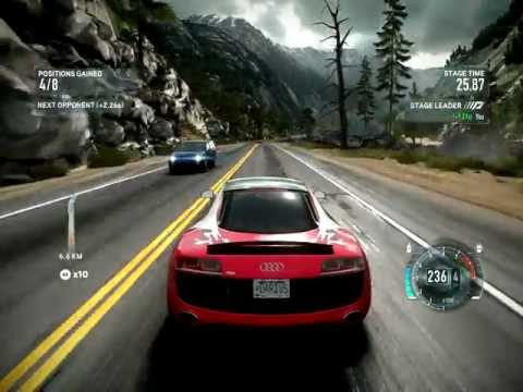 Game play: Need For Speed The Run (Test resolution 2048x1536 QXGA)
