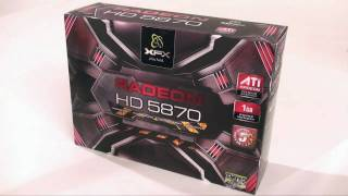 XFX ATI Radeon HD 5870 Video Card Unboxing