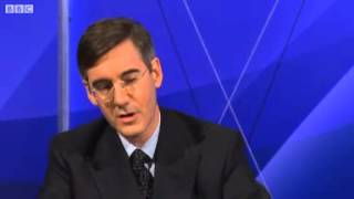 Steve Coogan on BBCQT - Tories 'Pleb Management' Policy