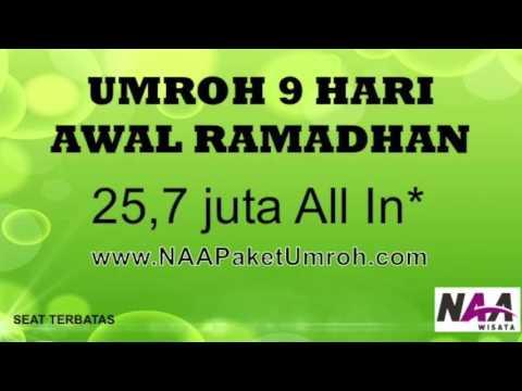 Video umroh murah awal ramadhan