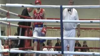 Daniel Dubois 13 yrs old school boys boxing championships 12th february 2011