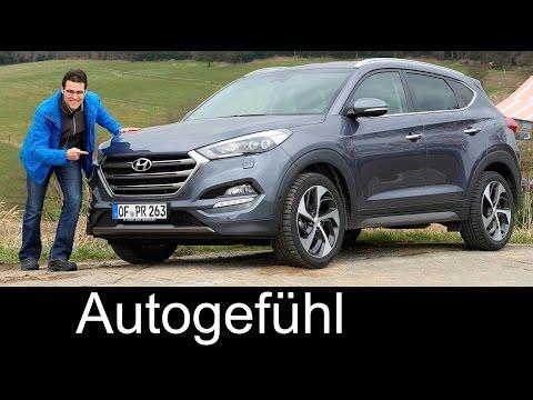 Hyundai Tucson FULL REVIEW test driven all-new model neu 1.6t DCT - Autogefühl