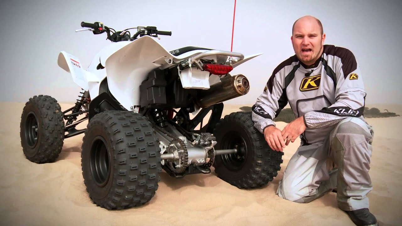 ATV Test Ride: Honda TRX 450R