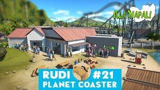Isla Napali - Planet Coaster | Hyper Realistic Park & Magnificant Rides Talk