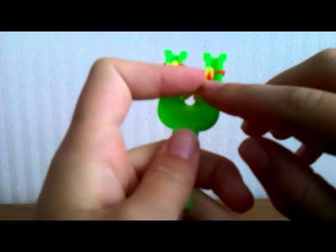 Плетение из резинок брелки видео на рогатке