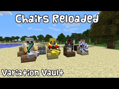 Minecraft Bukkit Plugin - Chairs Reloaded - Sit on steps!