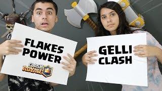 Flakes Ou Gelli Like Dislike Ou Grava Junto Clash Royale
