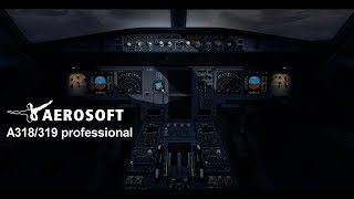 Aerosoft A318/319 professional - Official Video