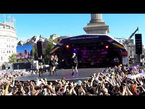 150809 London Korean Festival - f(x) (full fancam)