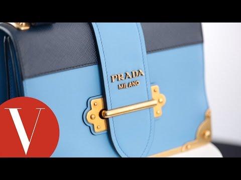 每週包款 Prada的文青書本包
