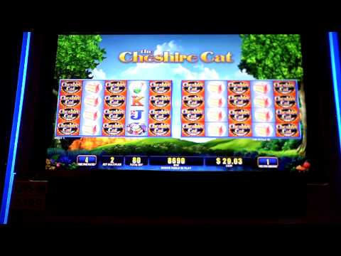 Cheshire Cat bonus win Sands Casino