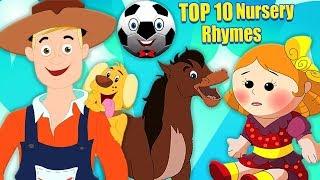 top 10 vần mẫu giáo | bài hát cho trẻ mới biết đi | bài thơ bé | Top 10 Nursery Rhymes | Kids Rhyme
