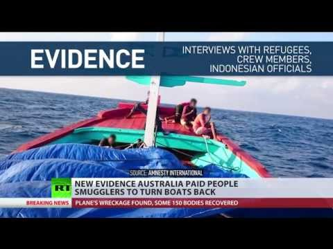 Australia paid people smugglers to turn back asylum seeker boats – Amnesty Intl