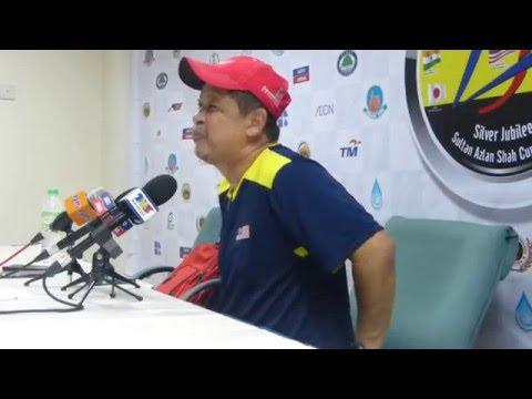 Sultan Azlan Shah Cup 2016: Day 5: Malaysia Post Match Press Con