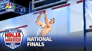 Joe Moravsky at the Las Vegas National Finals: Stage 3 - American Ninja Warrior 2017