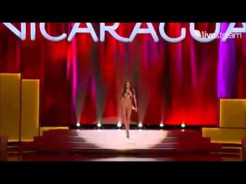 Adriana Dorn Miss Nicaragua Preliminaries.wmv