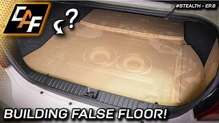 Match vehicle panels perfectly - Making the False Floor! - ProjectStealth