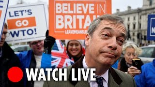 Leave Means Leave Rally: LIVE