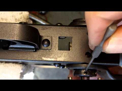 AK47 Underfolder stock removal