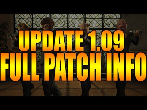 GTA 5 ONLINE UPDATE 1.09 PATCH (INFO) - GTA V MONEY GLITCH (WORKING) GTA V MULTIPLAYER (PATCH NOTES)