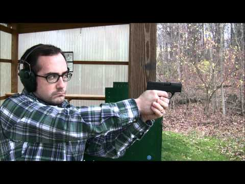 Shooting the Beretta Nano at the range