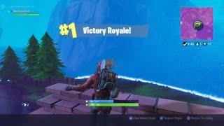 Intense Fortnite win// 11 Kill Game// Funny Launch Pad Kills