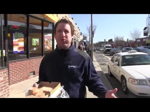 Barstool Pizza Review - Subway Flatizza