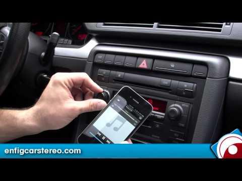 AUDI A4 02-06 iPod USB Bluetooth adapter Dension GBL1AU2