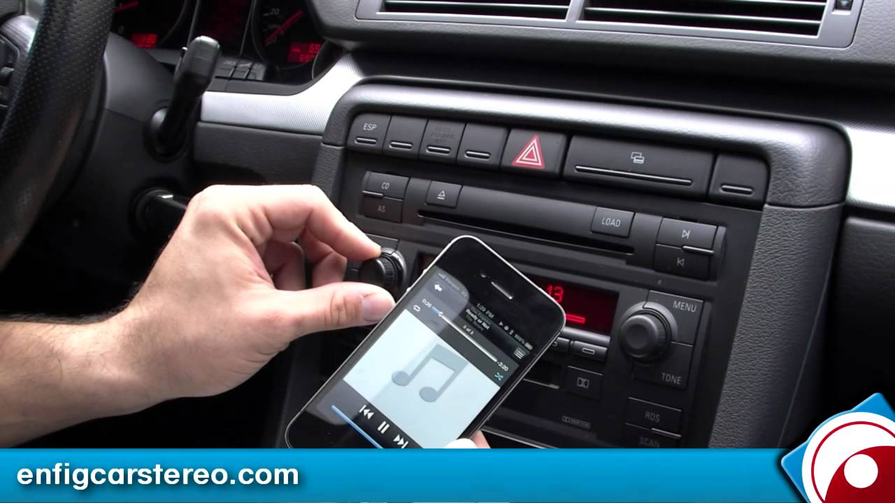 Audi A4 02 06 Ipod Usb Bluetooth Adapter Dension Gbl1au2 Youtube