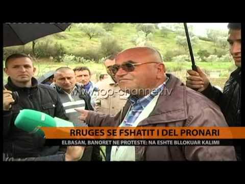 Elbasan, rrugës së fshatit i del pronari - Top Channel Albania - News - Lajme