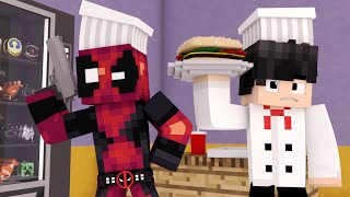 Minecraft - RESTAURANTE ‹ DEADPOOL ESTÁ COM FOME ›
