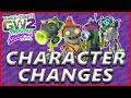 All Character + Map Changes - Plants vs Zombies Garden Warfare 2