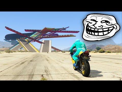 CARRERA TROLL EXTREMA!!! DIOS!! - CARRERA GTA V ONLINE - GTA 5 ONLINE